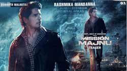 Mission Majnu The First-Look Poster