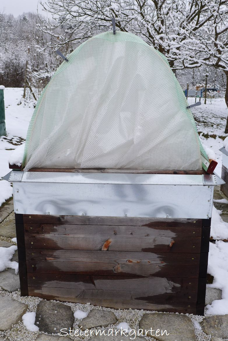 Hochbeet Berdachung Beautiful Pflege Eines Hochbeetes With Hochbeet