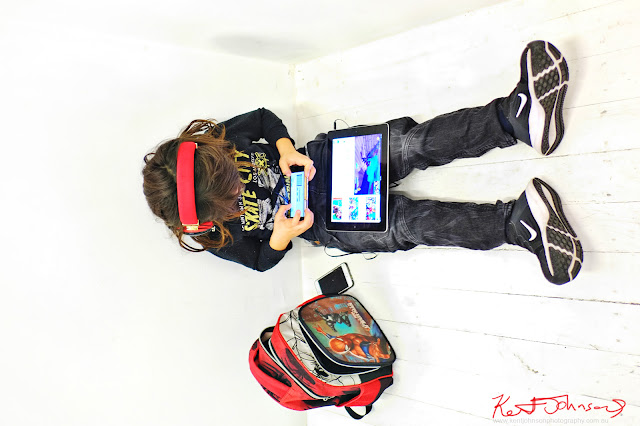 Digital native biding their time - Photography by Kent Johnson for Street Fashion Sydney.