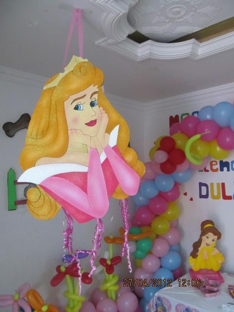 Decoracion princesas disney fiestas infantiles fiestas - Decoracion fiesta princesas disney ...