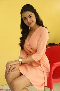 Rukshar Mir in a Peachy Deep Neck Short Dress 026.JPG