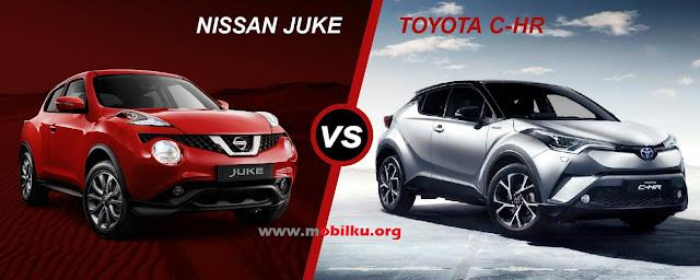 Rival, CHR, Vs, Nissan, Juke, Honda, HRV, tenaga, Spek, harga, torsi, kelebihan, kekurangan