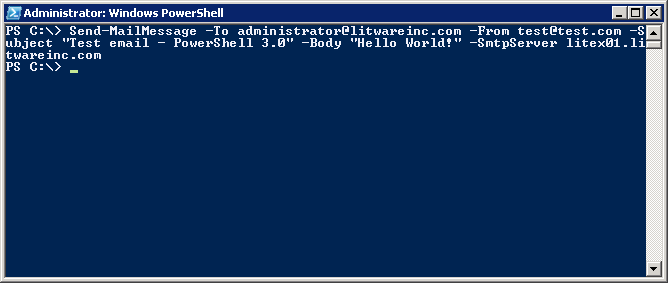 Technical Deep Dive: Send email with PowerShell