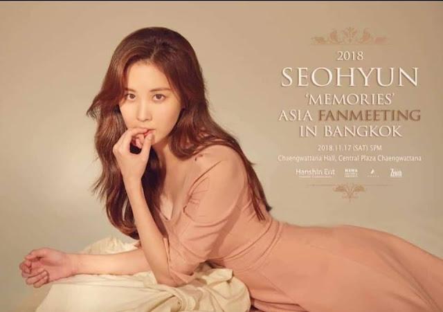 2018 SEOHYUN 'MEMORIES' ASIA FANMEETING IN BANGKOK