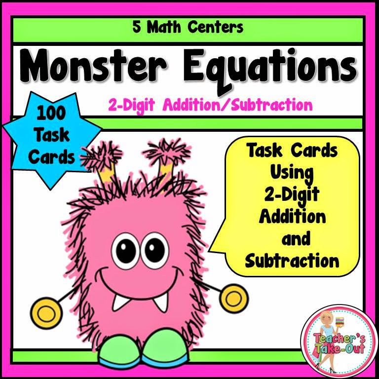 Monster Equations 2-Digit