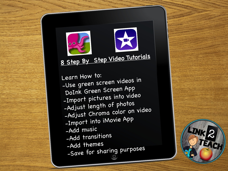 step by step green screen app tutorial