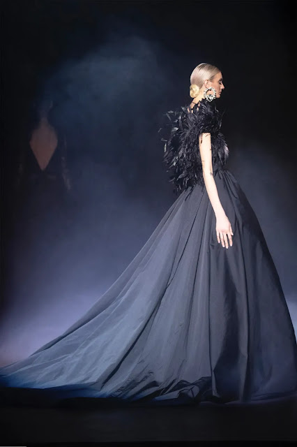 Kelly Fountain fashion recap on Elie Saab Couture