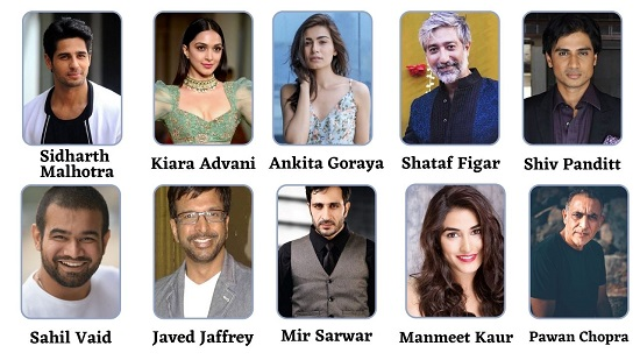 Shershaah Star Cast