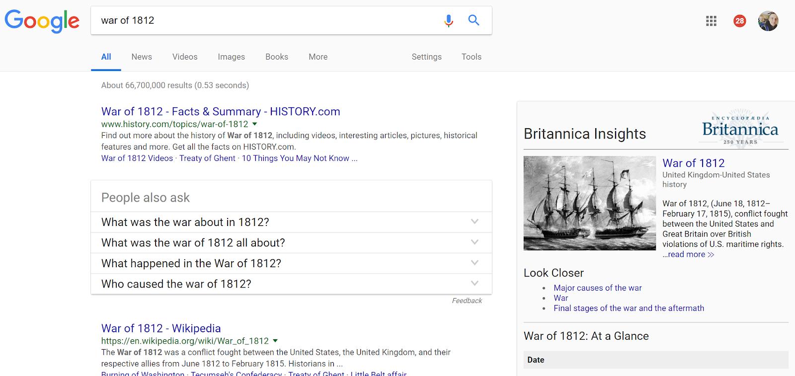 Free Technology for Teachers: Britannica Insights - A Chrome