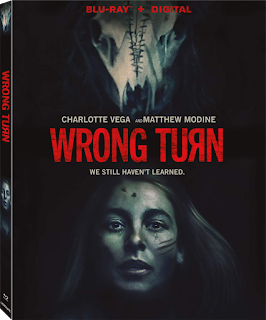 Vault Master's Pick of the Week for 02/23/2021 is Lionsgate's Blu-ray release of WRONG TURN (2021)!