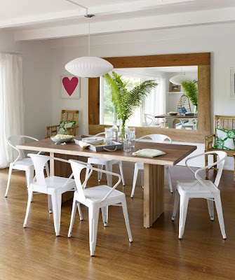 Another Example of Simple Ergonomic Dining Room Chairs