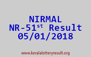 NIRMAL Lottery NR 51 Results 5-1-2018