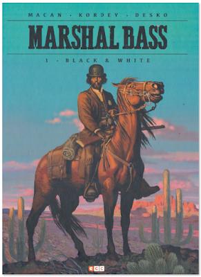 Marshall Bass de Macan, Kordey y Desko, edita ECC ediciones comic western sherff