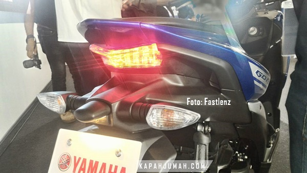 New Sport Matic Yamaha Aerox 155