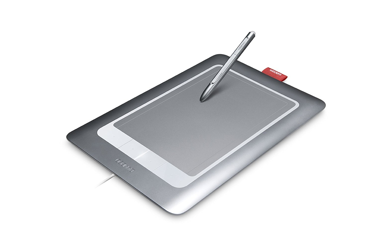 *New* Wacom Bamboo Fun CTH661 USB Touch Drawing Graphics Tablet W// Stylus