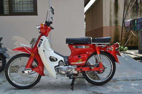 Honda c70 Yang Melegenda