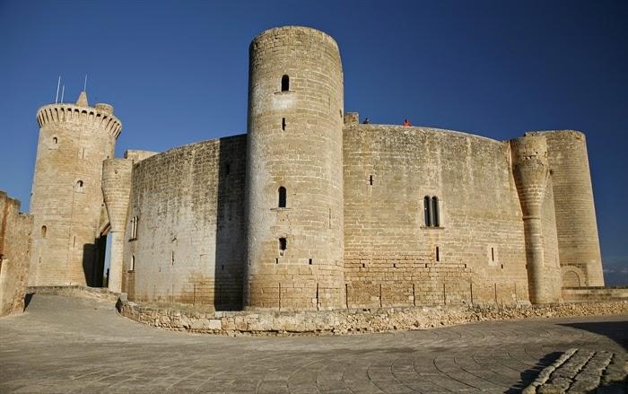 Castillo de Bellver, con unas hermosas vistas de Palma de Mallorca