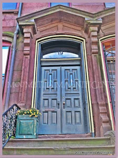 Hartford Connecticut Brownstone Doors Victorian Architecture