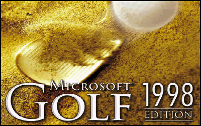Microsoft Golf 1998 Edition - Jeu de Golf sur PC