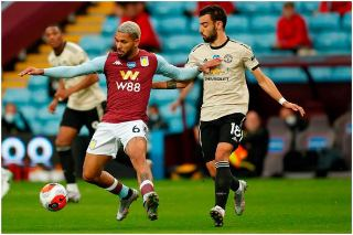 Manchester United set new Premier League record with the win 3-0 against Aston Villa