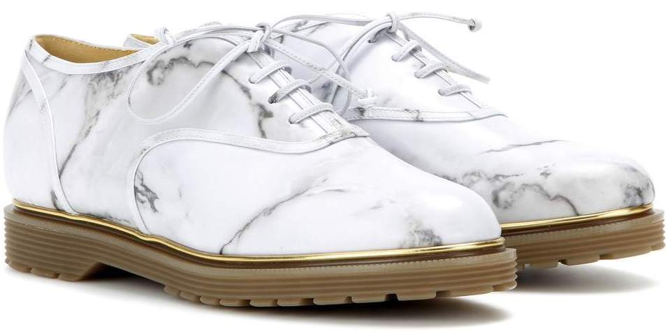 Charlotte Olympia marble oxfords