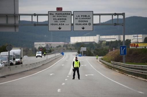 Ισπανία: Σε κατάσταση έκτακτης ανάγκης - Κλείνουν όλα τα μαγαζιά