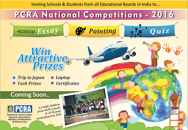 National Level Essay writing, Paining, Quiz Competitions for School Children