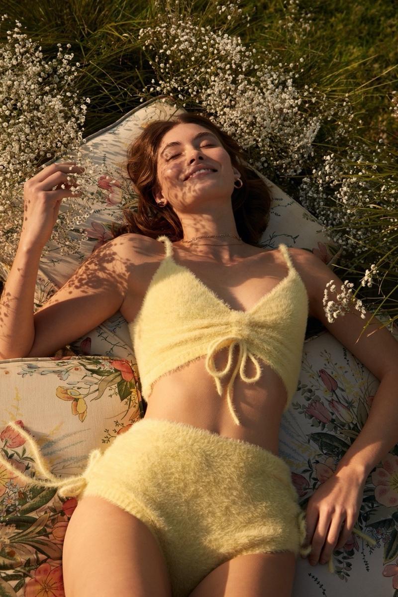 For Love & Lemons x Victoria's Secret Fiona Bralette and Sleep Short