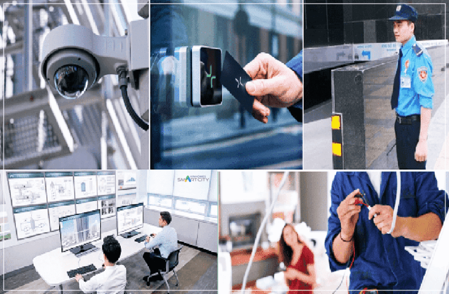 Hệ thống an ninh đa lớp của Vinhomes Smart City Tây Mỗ
