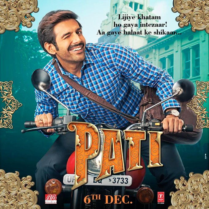 Pati Patni Aur Woh 2019 Hindi Pre-DVDRip 700MB Full Movie