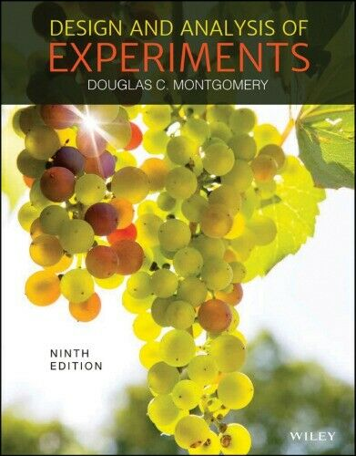 Design and Analysis of Experiments 9th Edition (P D F)