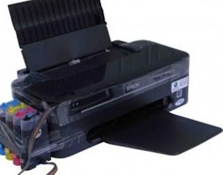 Printer Epson T13 Lampu Merah Dan Hijau Nyala Terus