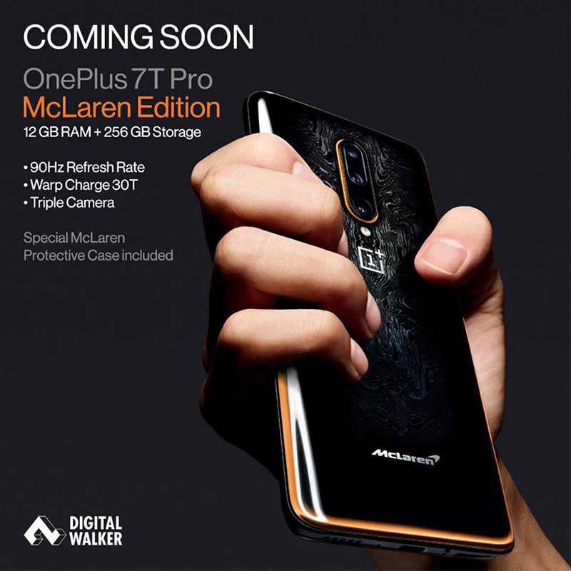 OnePlus 7T Pro McLaren Edition 12GB/256GB is priced at PHP 46,990!