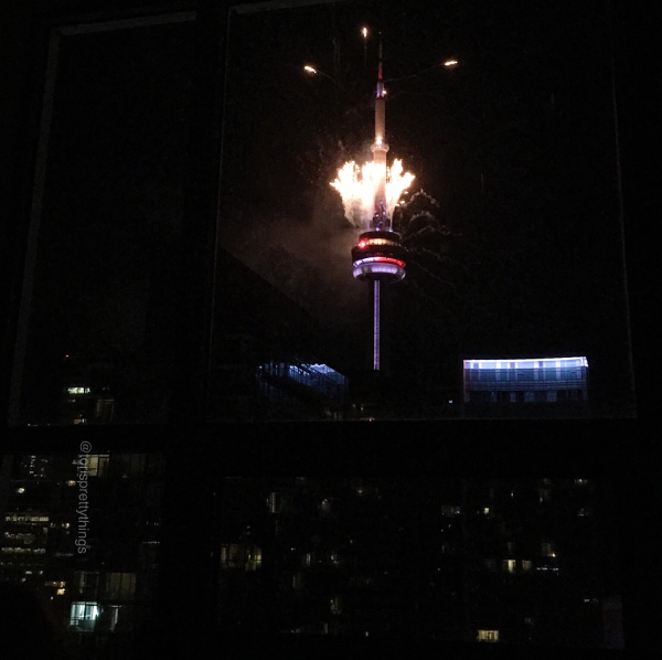 CN Tower Canada Day, Canada 150 Fireworks Show - Tori's Pretty Things Blog