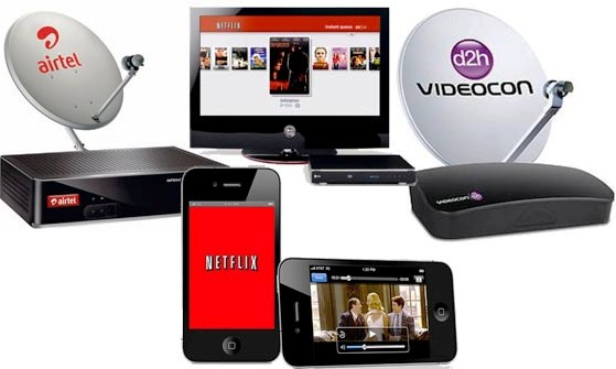 how to watch tv without cable or dish in india