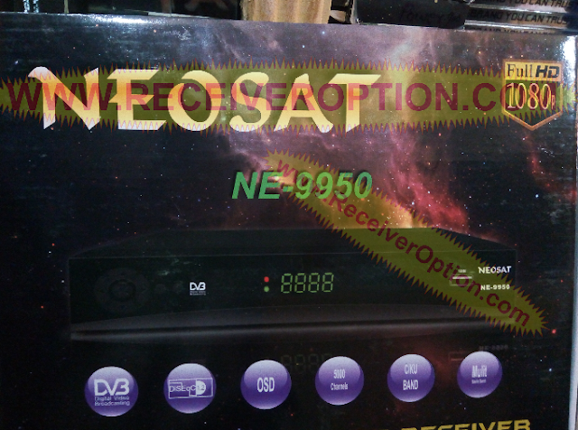 NEOSAT NE-9950 HD RECEIVER POWERVU KEY NEW SOFTWARE