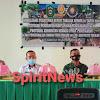 Pemerintah, TNI dan Polri di Marno, Gelar Rapat Terbatas