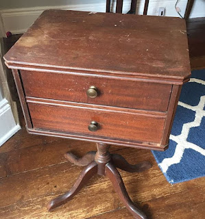 antique thread cabinet