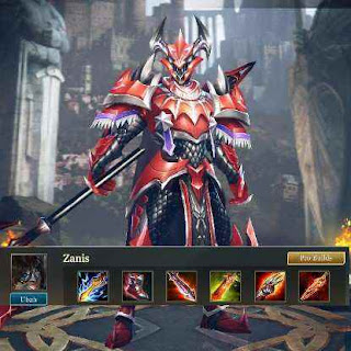 Build Item dan Arcana Zanis Arena of Valor – Serangan Tombak Mematikan