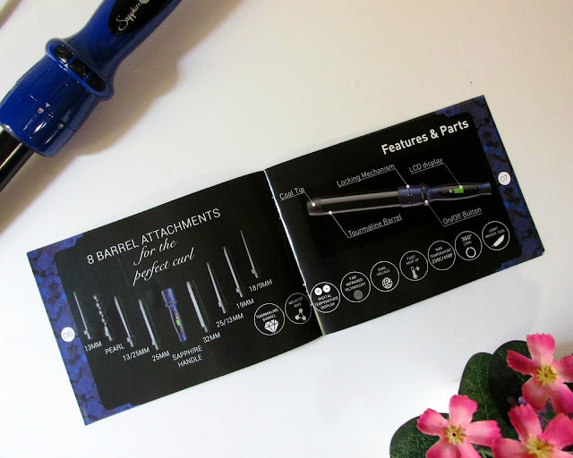 Irresistible Me, sapphire 8-in-1 curling wand, curling wand review