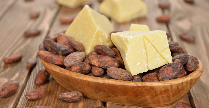 Os benefícios da manteiga de cacau para a saúde