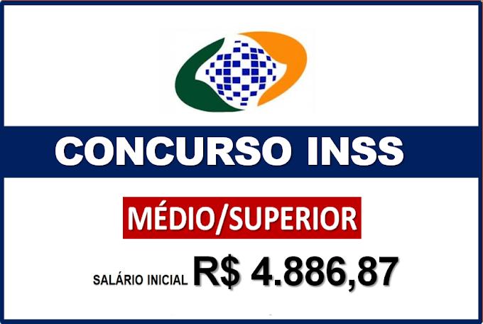 Concurso INSS: novo EDITAL solicitado para 10 mil vagas. Salário inicial de R$5.186,79. Saiba Mais