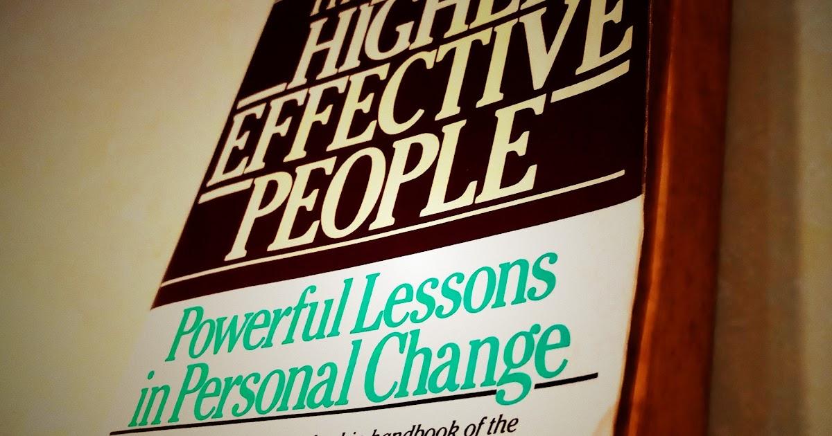 [閱讀筆記] 高效能人士的七個習慣 (The 7 Habits of Highly Effective People) ★★★★★