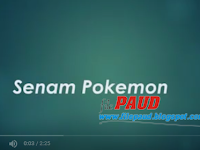 Download Senam Paud Senam Pokemon Lucu Gratis