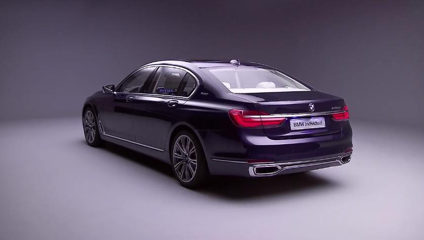 Η επετειακή έκδοση του πολυτελούς sedan της BMW Individual
