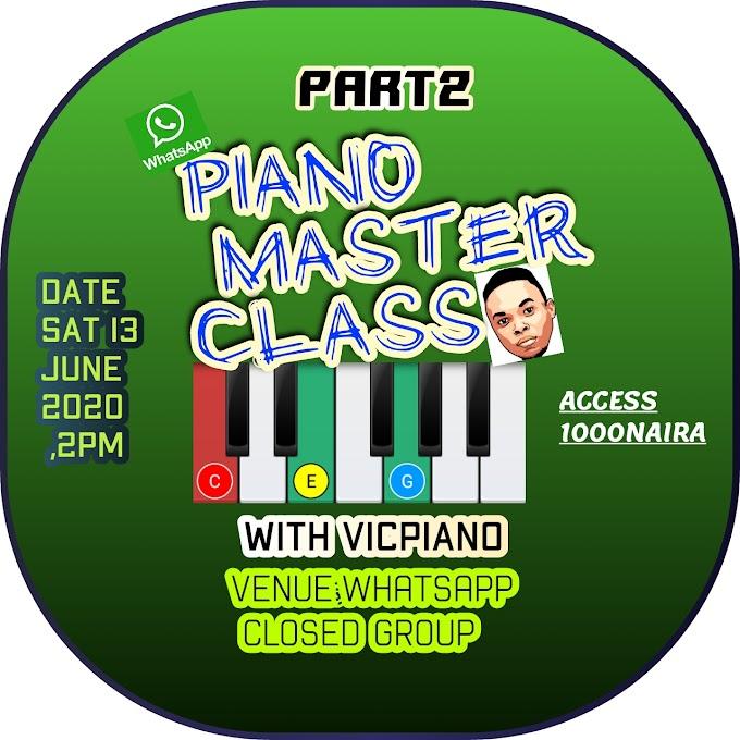 PIANO MASTER CLASS WITH VICPIANO_PT2