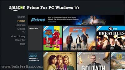 Install Amazon Prime For PC
