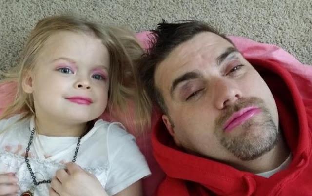 13 фото, которые доказывают безграничную власть дочек над отцами