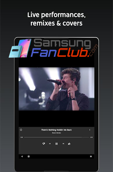 Download YouTube Stream Music & Videos Android App for Samsung Phones