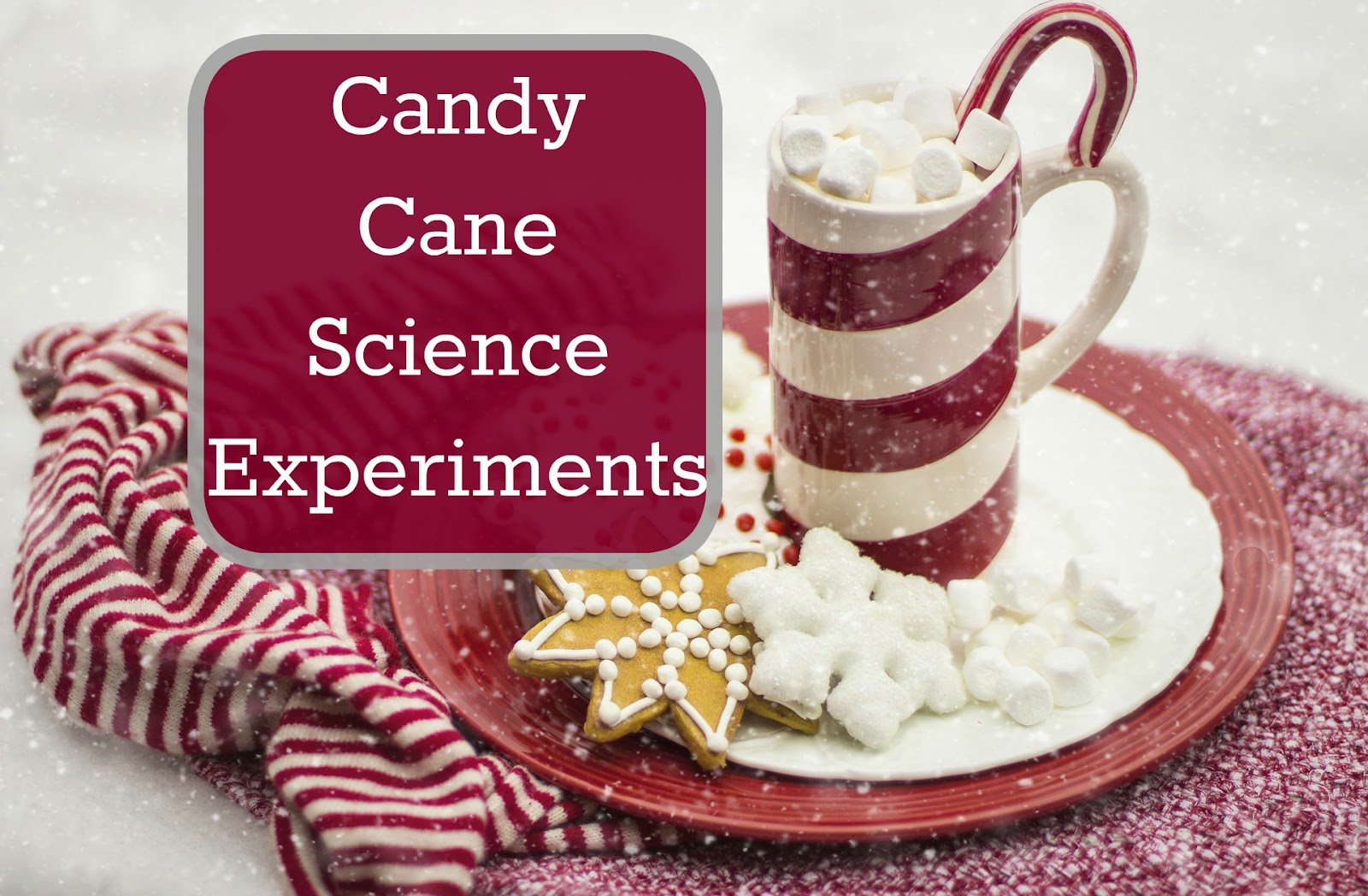Our Unschooling Journey Through Life Candy Cane Science